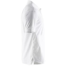 Craft Classic Polo Pique - Camiseta manga corta Hombre - blanco